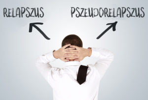 Relapszus vagy pszeudorelapszus?