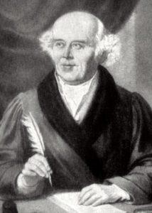 Samuel Hahnemann, a homeopátia rendszerének kidolgozója