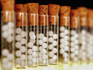 homeopátiás golyócskák