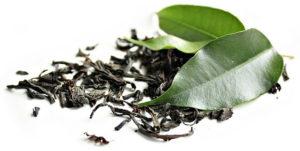 zöld tea levelei