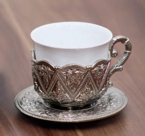 üres török kávéscsésze