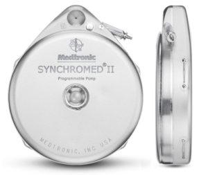 Synchromed típusú Baclofen pumpa