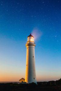 figyelmeztető világítótorony