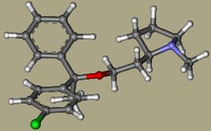 Klemasztin molekulaváza