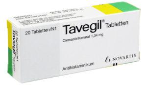 Egy doboz Tavegil