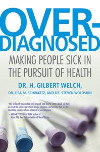 H. Gilbert Welch Overdiagnosed c.ímű könyvének borítója