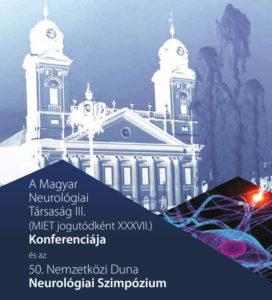 a Magyar Neurológiai Társaság III. konferenciájának plakátja