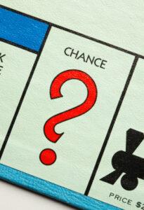 a Monopoly társasjáték Chance mezője