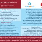 Kétnapos program a 2019-es SM Világnapon Gyulán